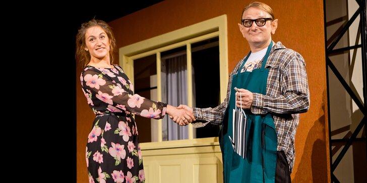 Pojďte se bavit: vstupenka na divadelní komedii Celebrity s. r. o.