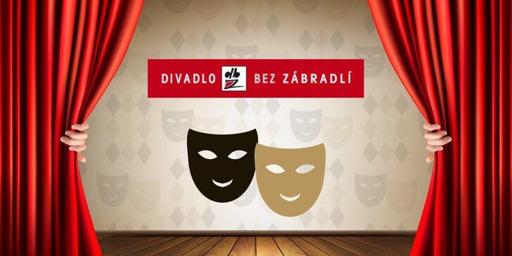 40% sleva na vybraná představení v Divadle Bez zábradlí: Výběr z 8 inscenací