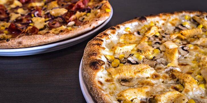 Zajděte na 2 pizzy do restaurace U Dušičků na Pernštýnském náměstí