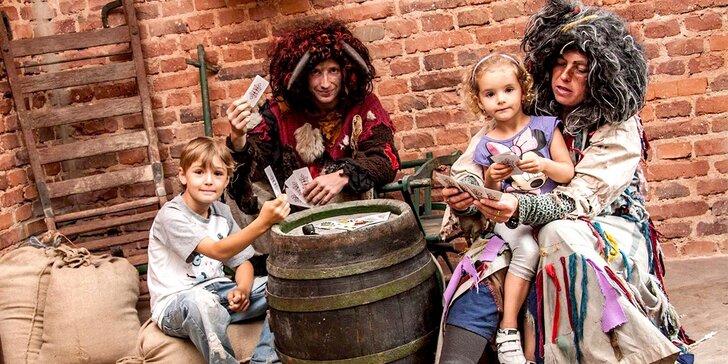 Jarní víkendové vstupné do Pohádkové říše pro děti i dospělé
