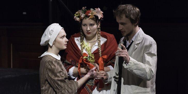 Vstupenka na představení Černé jezero v Divadle Na Rejdišti