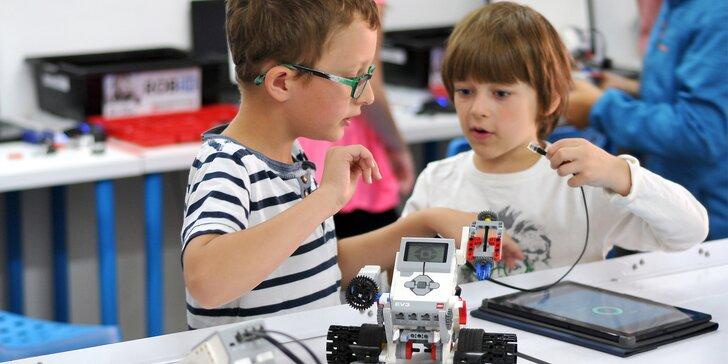 Demo kurz robotiky: programování robotů i rozvoj kreativity