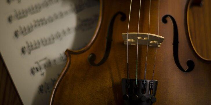 To nejlepší z české a světové hudby za doprovodu houslí a soprána