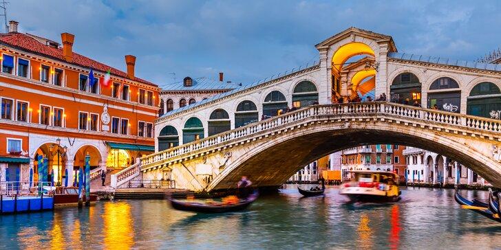 Vyrazte s námi teba do Benátek - magického města na laguně