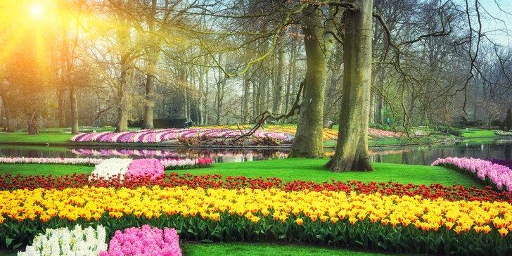 Užijte si jarní Holandska s největší květinovou zahradou v Evropě!