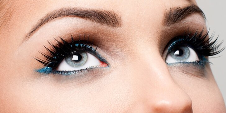 Prodlužování řas značky Blink Lashes nebo Emporio lashes
