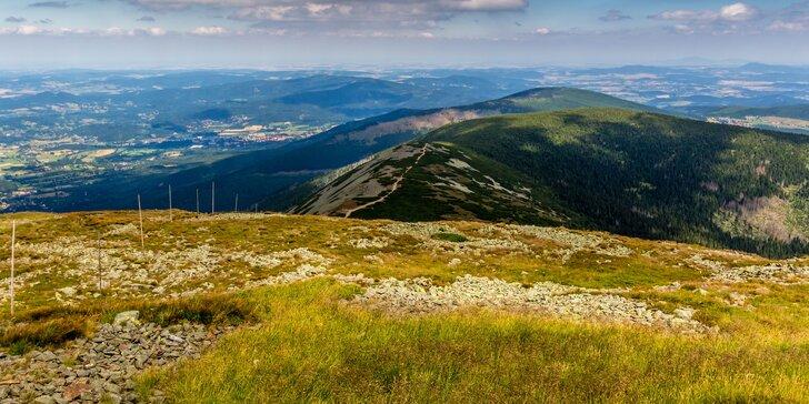 Jaro v Krkonoších: pobyt s polopenzí 10 km od Stezky korunami stromů