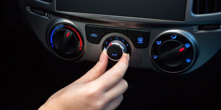 Kompletní dezinfekce klimatizace a interiéru vozu účinným ozónem
