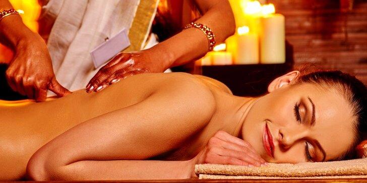 Hodinová tibetská masáž povzbuzující tělo i mysl
