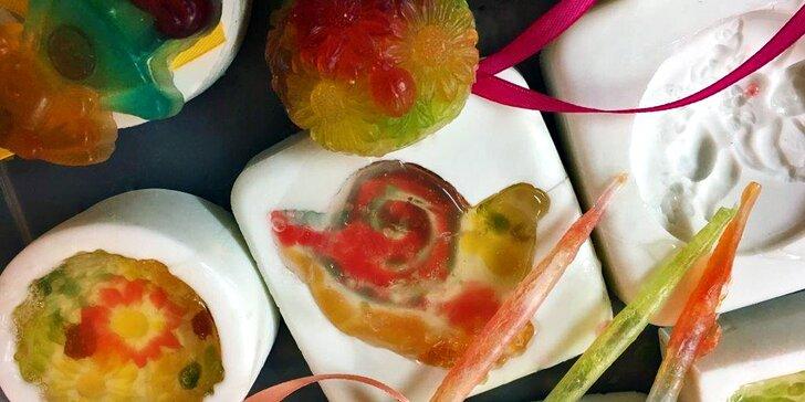 Víkendové tvoření v Rodasu: výroba glycerinového mýdla + káva a croissant