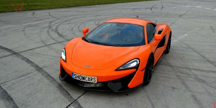 20minutová jízda v supersportu: Osedlejte Ferrari či Lamborghini a mnoho jiných