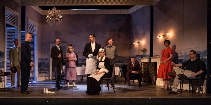Divadelní představení dle Agathy Christie: A pak už tam nezbyl ani jeden