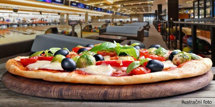 Výborná pizza a bowling v nejmodernějším bowlingovém centru