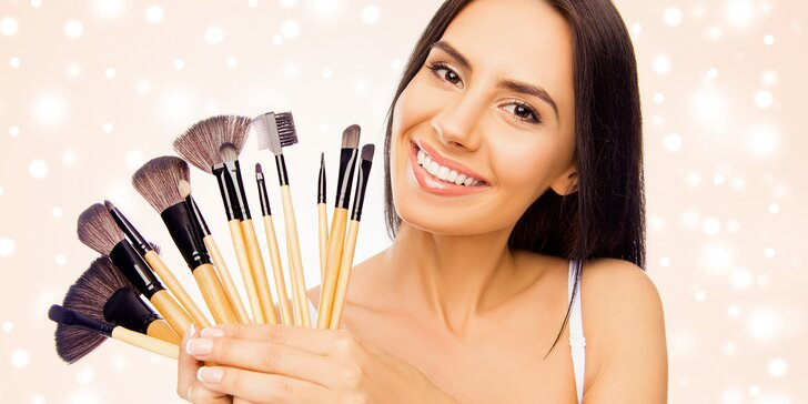 Buďte krásná: individuální minikurz líčení pro dokonalý vzhled