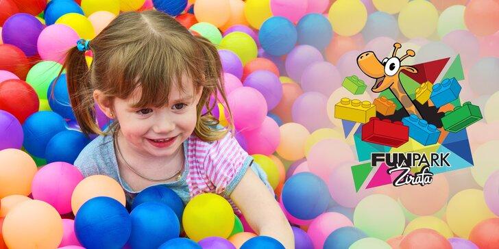 Funpark Žirafa: dětské vstupné do světa her a zábavních atrakcí