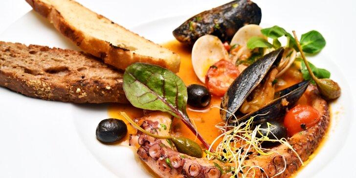 Dárkový voucher do restaurace s krásnou zahradou a středomořskou kuchyní