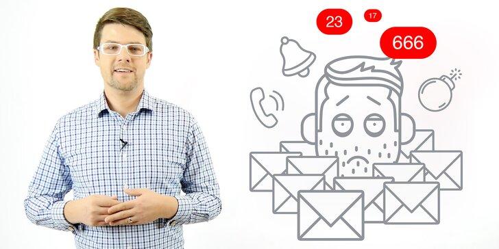 Video kurz Krotitel e-mailů: Vyřiďte je rychleji, ať máte čas na rodinu
