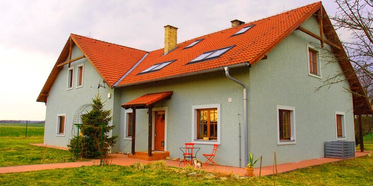 Pohodový pobyt až pro 10 osob v prostorné vile v jižních Čechách