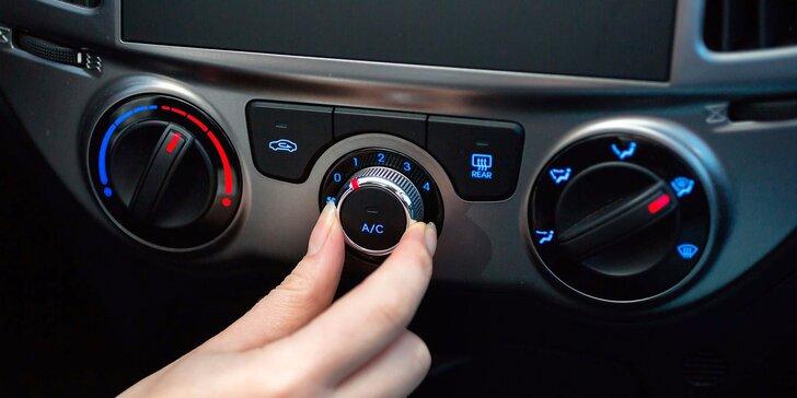 Kompletní servis: dezinfekce klimatizace a interiéru vozu účinným ozónem