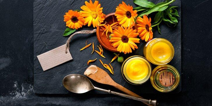 Vyrobte si vlastní relaxační oleje a masti na mini kurzu domácí kosmetiky