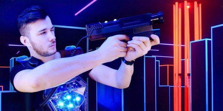 Akční zábava pro partu i celou rodinu: Laser game až pro 12 hráčů
