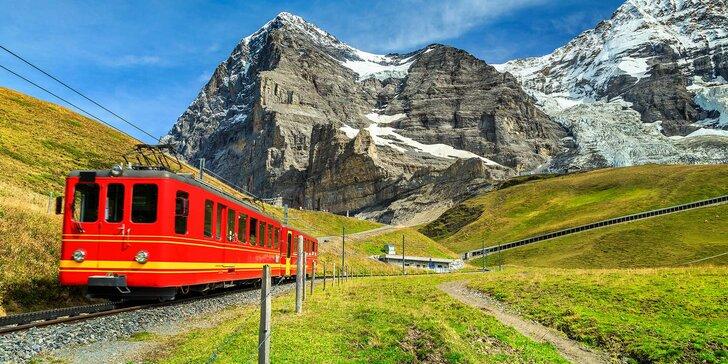 Do Švýcarska za čokoládou a sýrem: zájezd vč. 2 nocí v hotelu s polopenzí