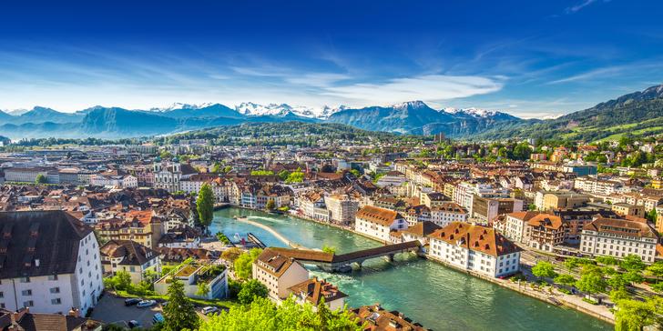 Švýcarsko: Květinový ostrov, Rýnské vodopády, Luzern i 2 noci v penzionu