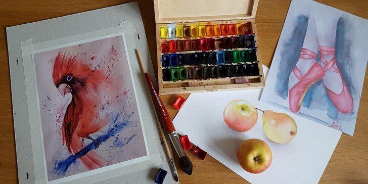 Získejte nové zkušenosti na víkendovém výtvarném kurzu po celé ČR
