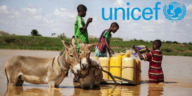 Pomozte dětem v nouzi získat přístup k nezávadné pitné vodě