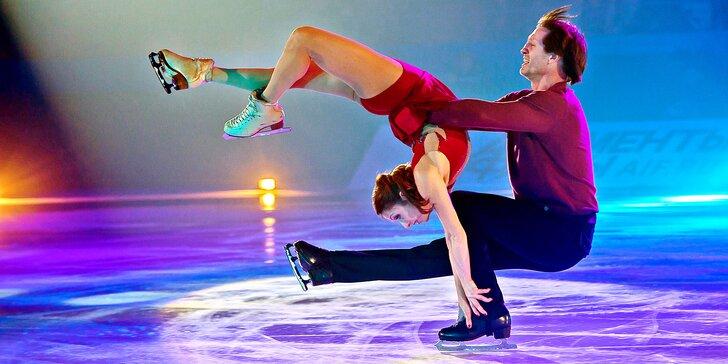Přehlídka šampionů: Vstupenka na lední show mistrů krasobruslení