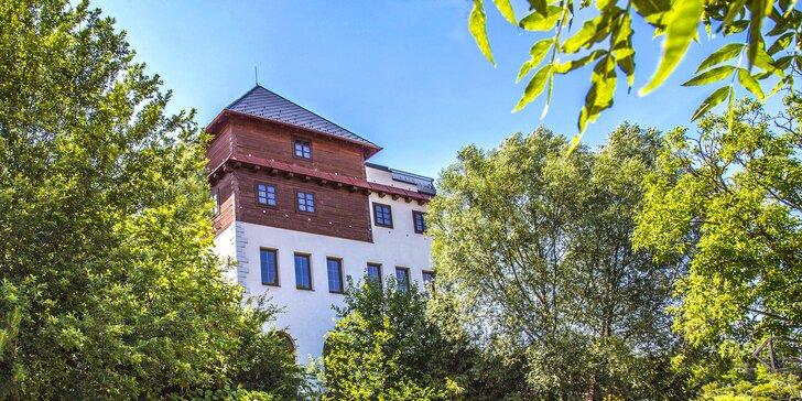 Oddychový pobyt na jižní Moravě s jídlem, vínem i vstupem do wellness