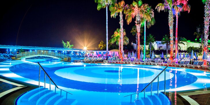 10 až 11 nocí v Turecku: let z Ostravy, 4* hotel, all inclusive, tobogány, bazény