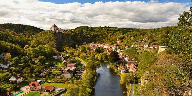 4 dny v Chalupě na Mlatě na jihu Moravy: Sauna, bazén a výlety Podyjím