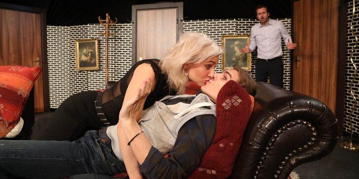 Vstupenka na divadelní představení Drahoušku, toužím po tobě...