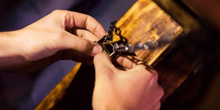 Úniková hra od hráčů únikovek: rudolfinský příběh, 60 minut pro 2–6 hráčů