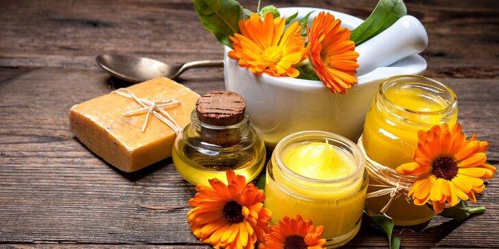 Kurz výroby přírodní kosmetiky - namíchejte si svůj krém, peeling či šampon
