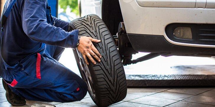 Pohodové jaro na silnici: Kompletní přezutí a vyvážení kol na osobním autě