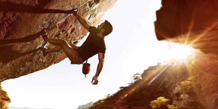 Bouldering na Labských pískovcích - super adrenalinový zážitek