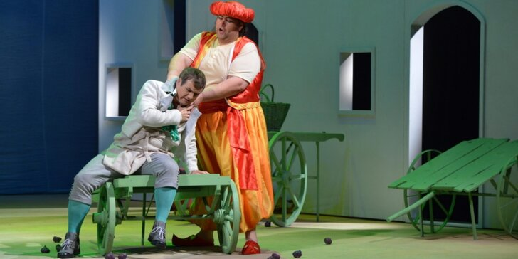 Vstupenka na divadelní představení Únos ze Serailu