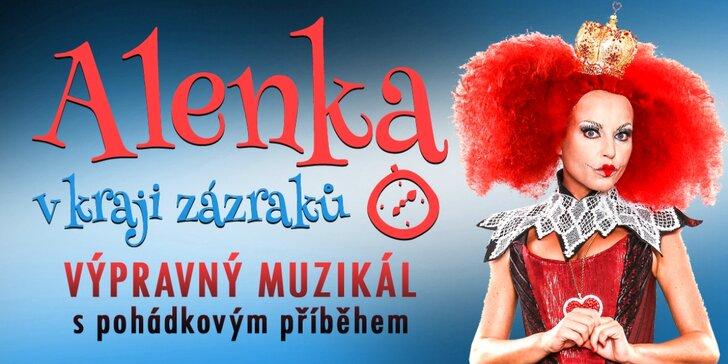 S dětmi na muzikál: Alenka v kraji zázraků - vstupné i pro celou rodinu