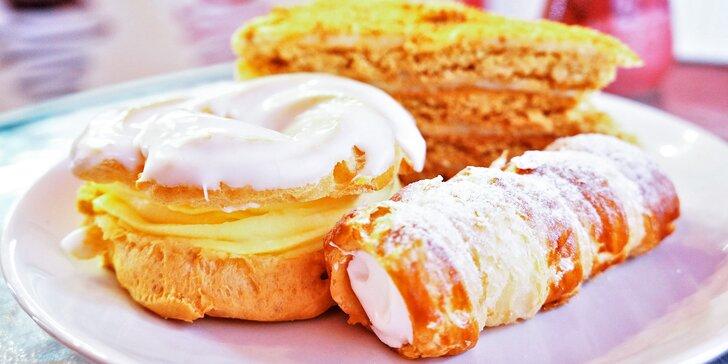 Oslaďte si den: 2 nebo 4 řezy či zákusky z cukrárny Emaros