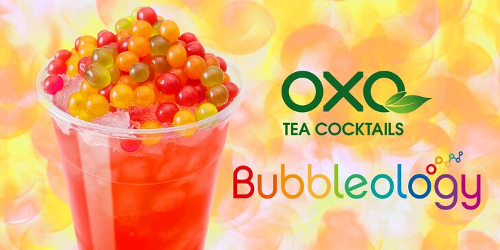 Bubbleology by OXO Tea Cocktails: osvěžující čajový koktejl bubble tea
