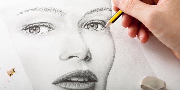Naučte se kreslit: Intenzivní kurzy kreslení pravou mozkovou hemisférou