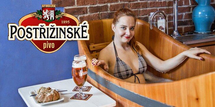 Hýčkání v Poděbradech: pobyt na 1–4 noci, pivní koupel a relaxační procedury