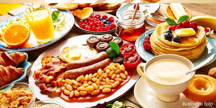 Posnídejte s grácií: Víkendový brunch vč. nápojů dle výběru pro 2