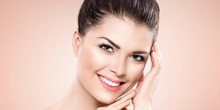 Dokonale ošetřená pleť: kosmetické ošetření dle výběru