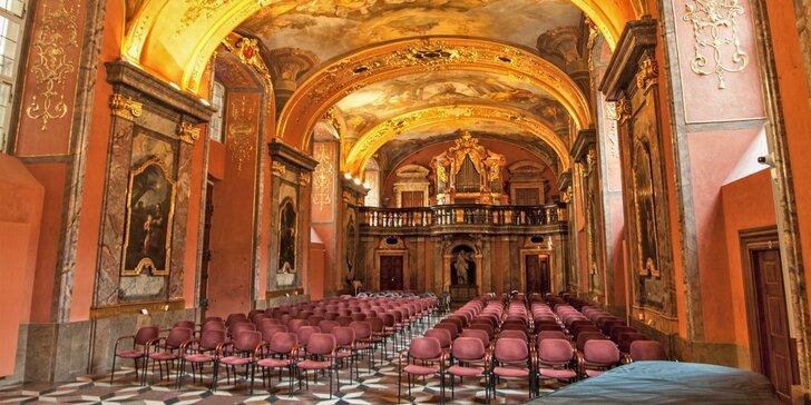 Dubnové koncerty: Smetana, Dvořák a Vivaldi v Zrcadlové kapli Klementina