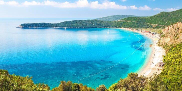 Letní idylka v Černé Hoře: 5 nebo 7 nocí ve 4* hotelu přímo u pláže se snídaní