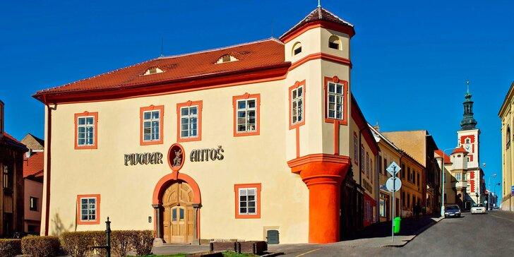 Komentovaná prohlídka pivovaru Antoš ve Slaném a degustace čtyř vzorků