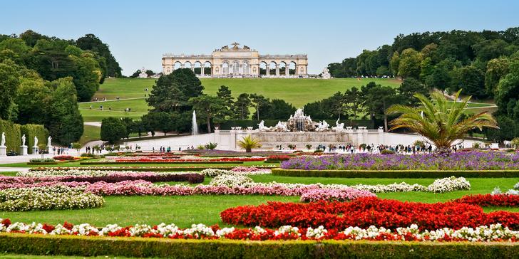 Likérka, čokoláda a barokní zahrady Vídně - Schönbrunn a Belvedér